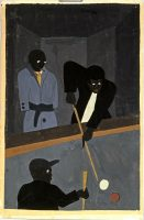 Jacob Lawrence. Pool Players, 1938 © Collection of AXA US /© Adagp, Paris, 2016