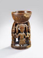 Coupe agere Ifa. Première moitié du 17e siècle. Nigeria, Royaume d'Owo, Ethnie Yoruba © musée du quai Branly - Jacques Chirac, photo Claude Germain